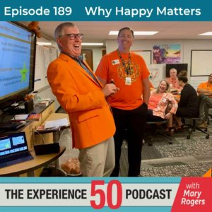 Bill Palladino on Experience 50 Podcast