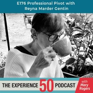 Reyna Marder Gentin on Experience 50 Podcast